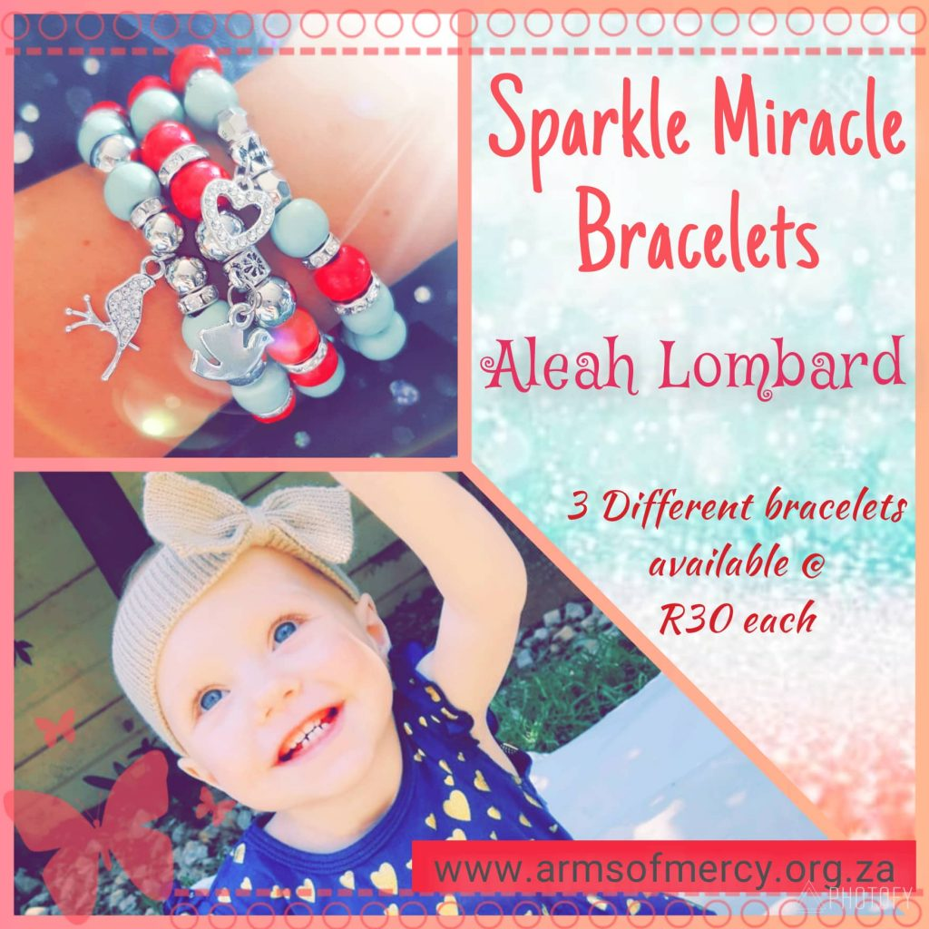 Sparkle Miracle Bracelets for Aleah Lombard - Arms of Mercy NPC