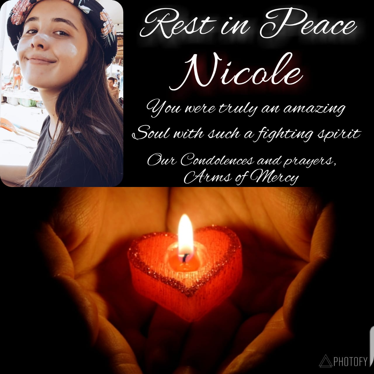 Rest in Peace, Angel, Nicole
