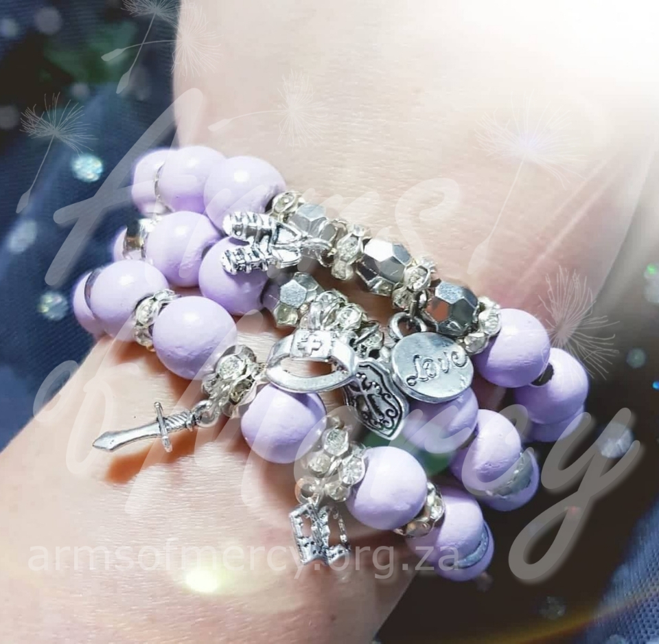Armoured by Love Bracelets © Arms of Mercy NPC