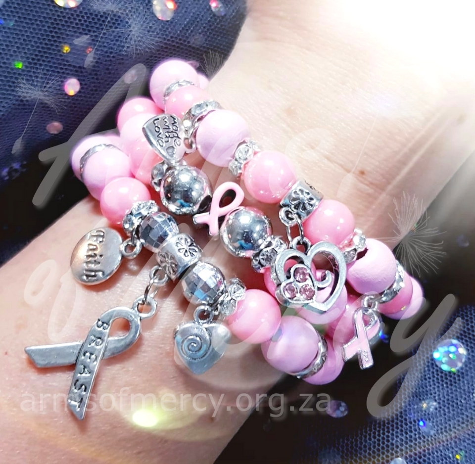 Breast Cancer Awareness Bracelets © Arms of Mercy NPC