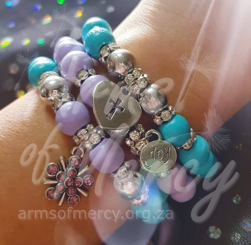 Everlasting Joy Bracelets © Arms of Mercy NPC
