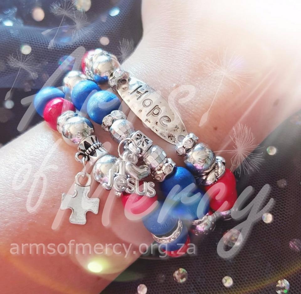 Fueled by Faith Bracelets © Arms of Mercy NPC