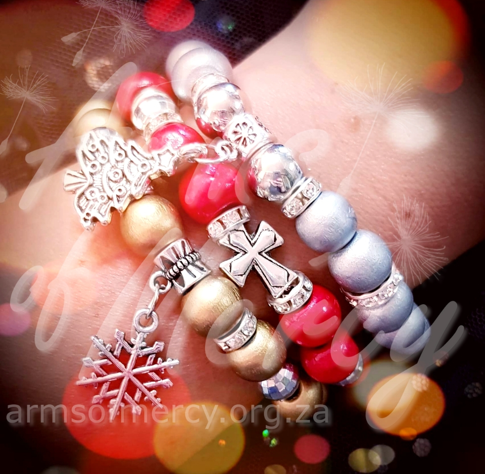 Merry and Bright Bracelets © Arms of Mercy NPC