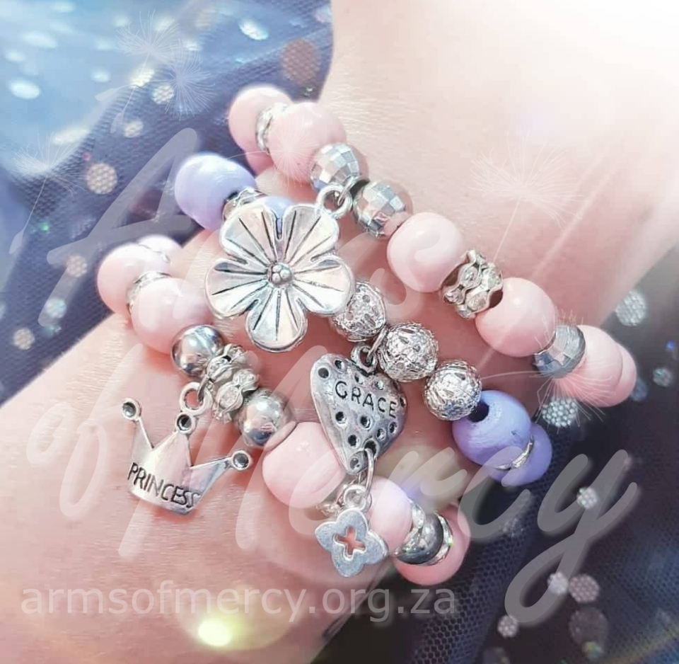 Princess Blossom Bracelets © Arms of Mercy NPC