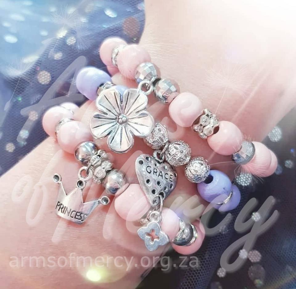 Princess Blossom Bracelets © Arms of Mercy NPC