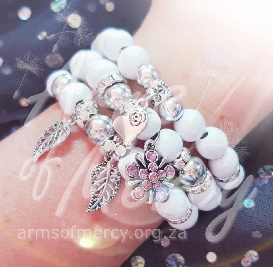 Pure Inspiration Bracelets © Arms of Mercy NPC