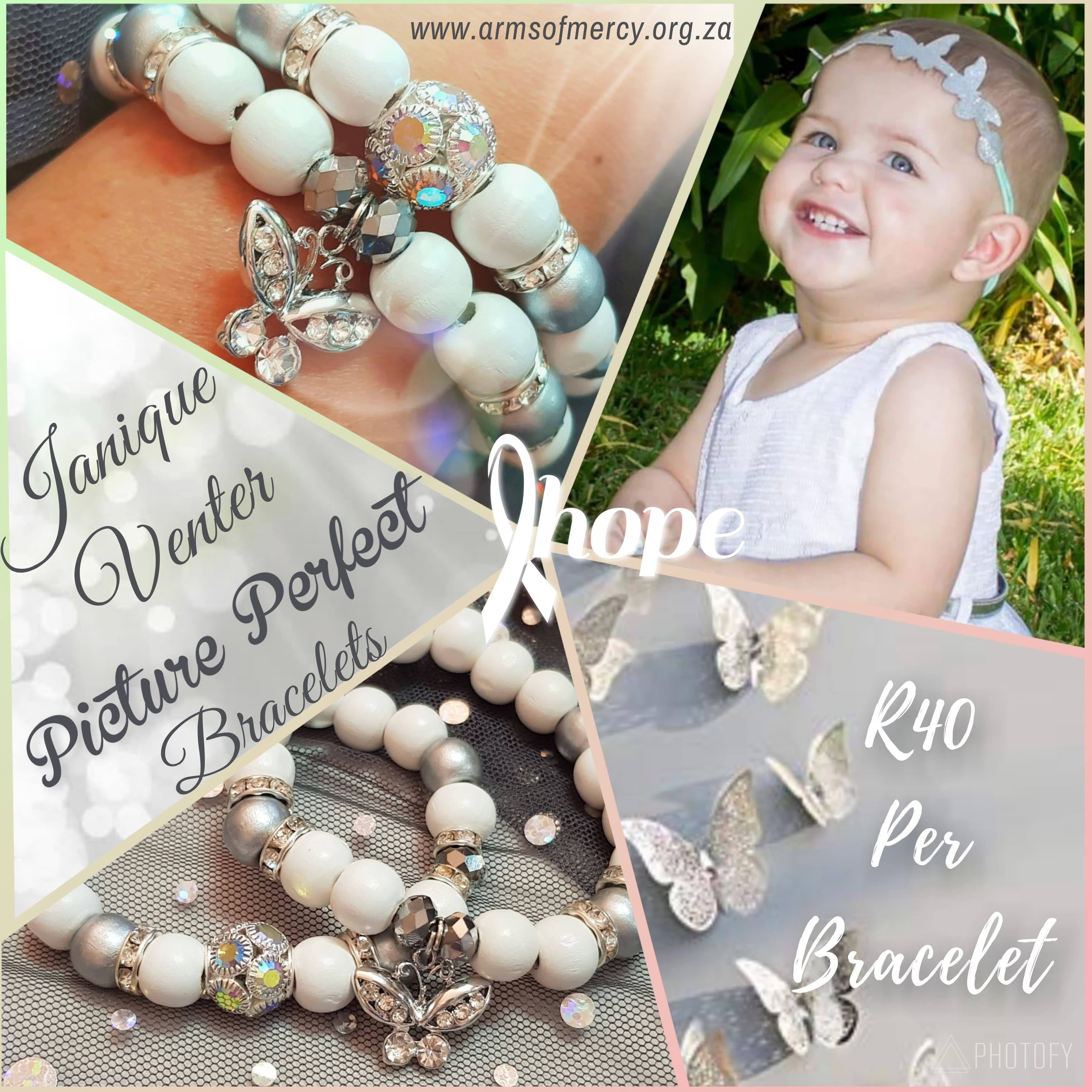 Picture Perfect Bracelets for Janique Venter - Arms of Mercy NPC