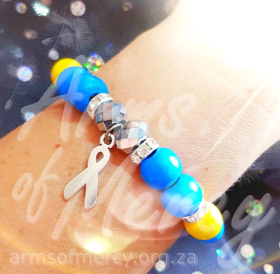 Down Syndrome Awareness Bracelets © Arms of Mercy NPC