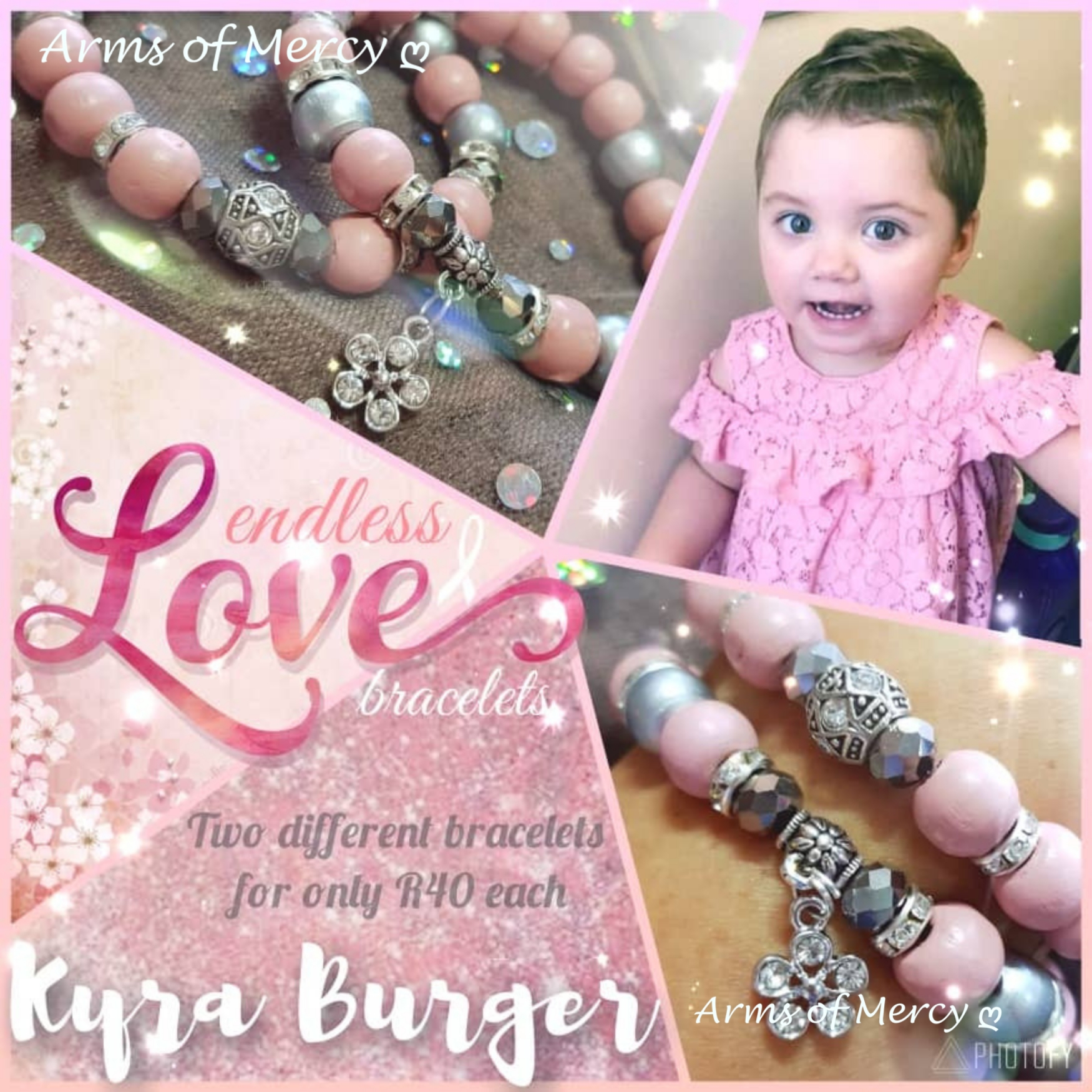 Limited Edition Endless Love Bracelets - Kyra Burger © Arms of Mercy NPC