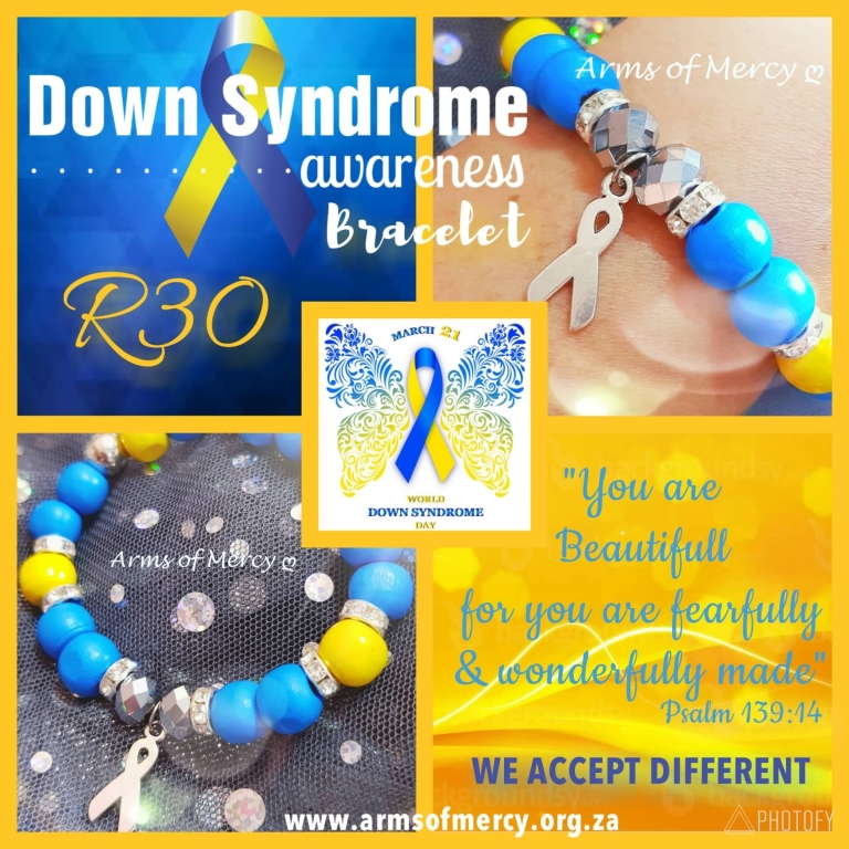NEW Down Syndrome Awareness Bracelets