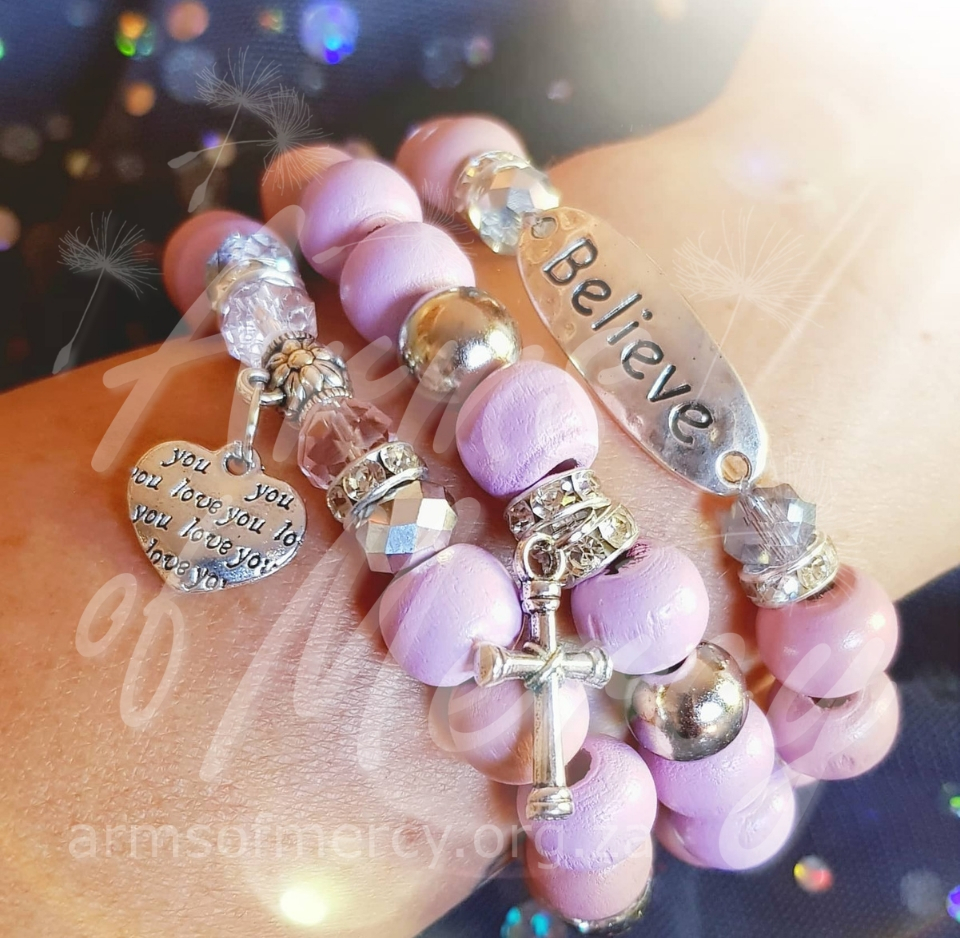 Always Believe Bracelets for Karlien Roets © Arms of Mercy NPC