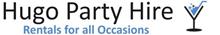 hugo party hire logo