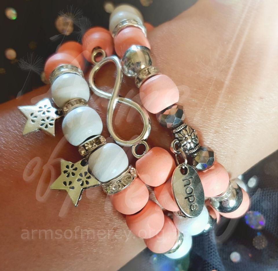 Infinity & Beyond Ladies Bracelets © Arms of Mercy NPC