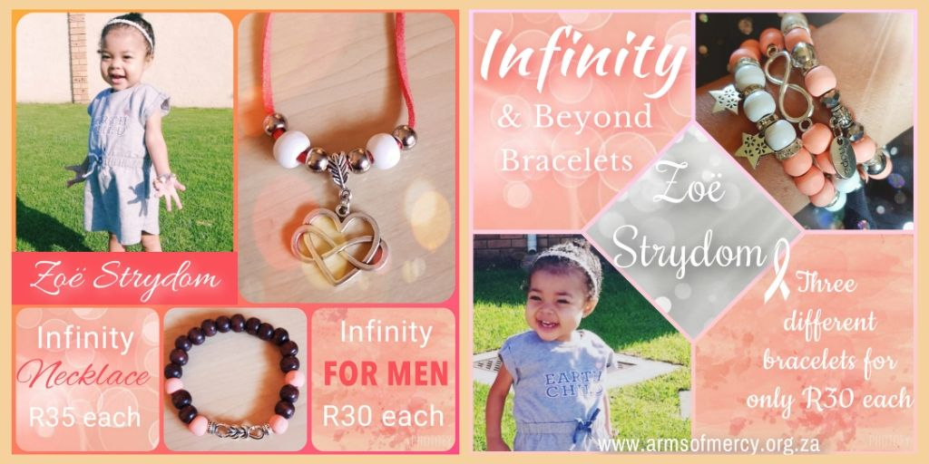Infinity & Beyond Collection for Zoë Strydom © Arms of Mercy NPC