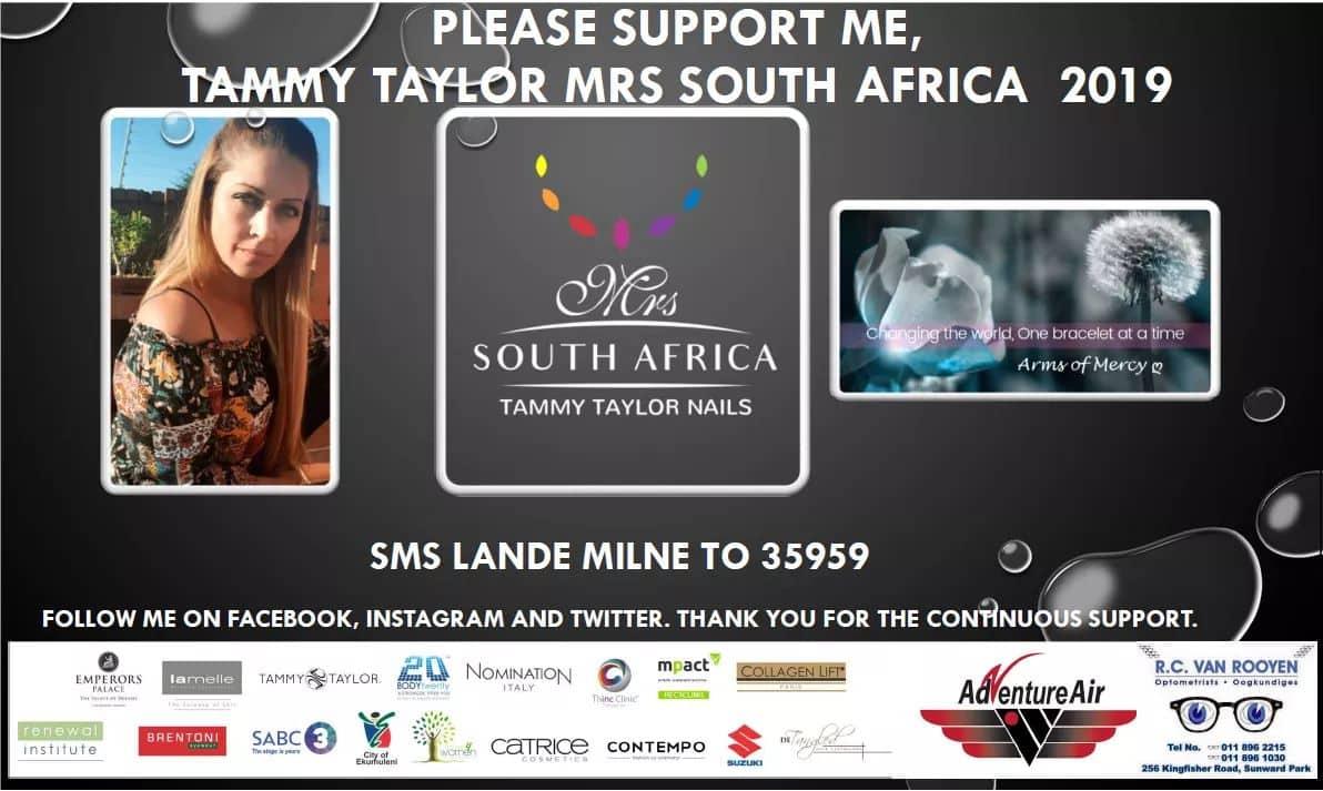Cast your vote for Lande Milne, Arms of Mercy Ambassador