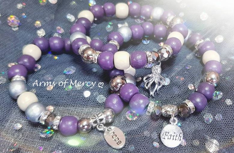 Strength through Faith Bracelets © Arms of Mercy NPC