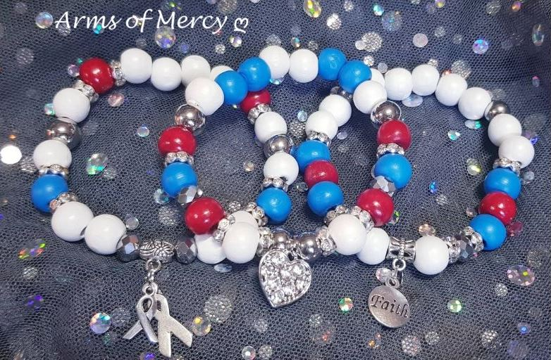 CHD Awareness Bracelets - Arms of Mercy NPC