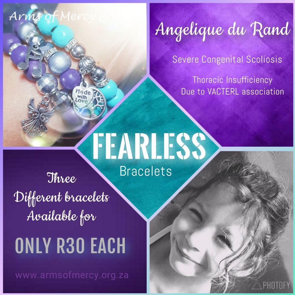 Fearless Bracelets for Angelique Du Rand - Arms of Mercy NPC