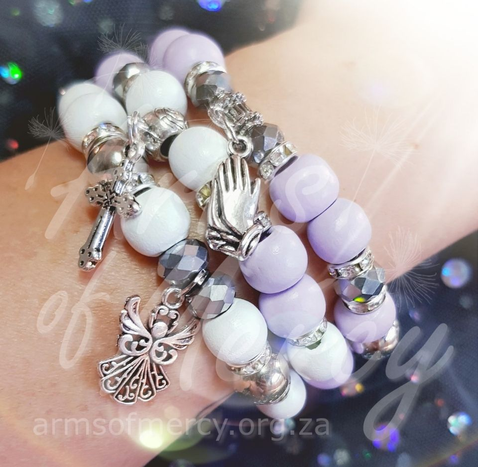 In God`s Hands Bracelets for Morgan Labuschagne - Arms of Mercy NPC