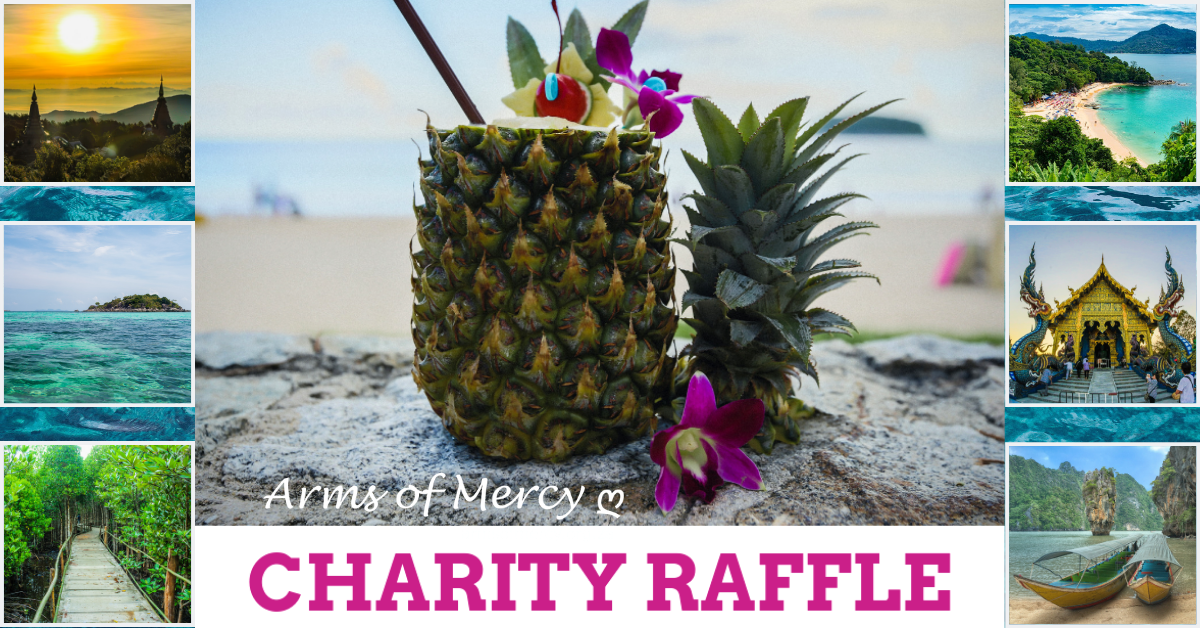 CHARITY RAFFLE: Help a Child in need to WIN 7 Nights in Phuket Worth R15000!