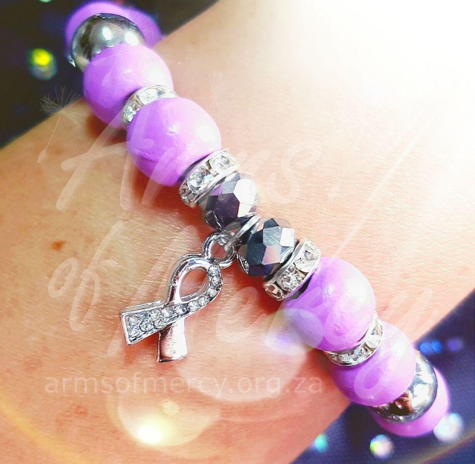 epilepsy awareness bracelet - arms of mercy npc