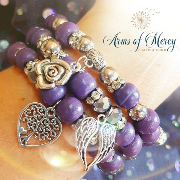65 Roses Bracelets © Arms of Mercy NPC