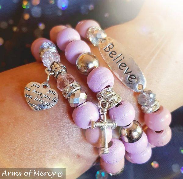 Always Believe Bracelets © Arms of Mercy NPC
