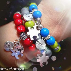 Autism Speaks Bracelets © Arms of Mercy NPC
