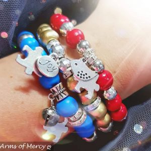 Awesome Autism Awareness Bracelets © Arms of Mercy NPC