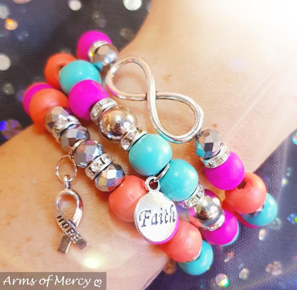Be Brave Bracelets © Arms of Mercy NPC