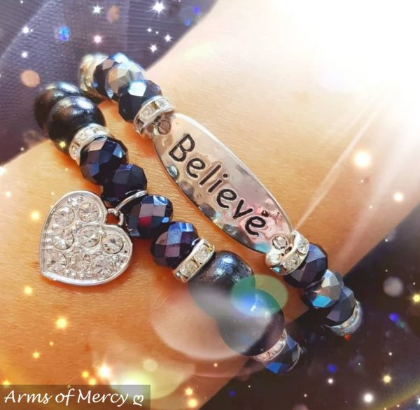 Timeless Bracelet Collection (Black) © Arms of Mercy NPC