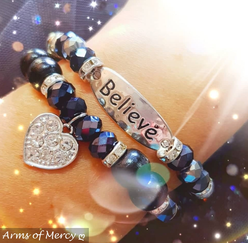 Timeless Bracelet Collection (Black) © Arms of Mercy NPC
