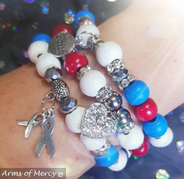 CHD Awareness Bracelets © Arms of Mercy NPC