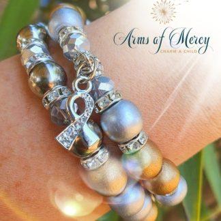 Childhood Cancer Awareness Bracelet © Arms of Mercy NPC
