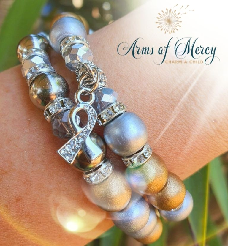 Childhood Cancer Awareness Bracelet © Arms of Mercy NPC