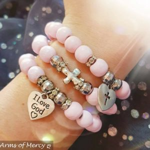 Cotton Candy Pink Bracelets © Arms of Mercy NPC
