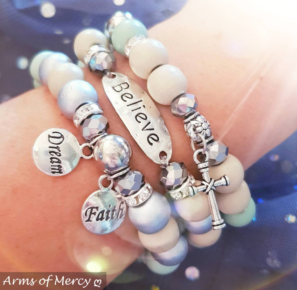 Dream Big Little One Bracelets © Arms of Mercy NPC