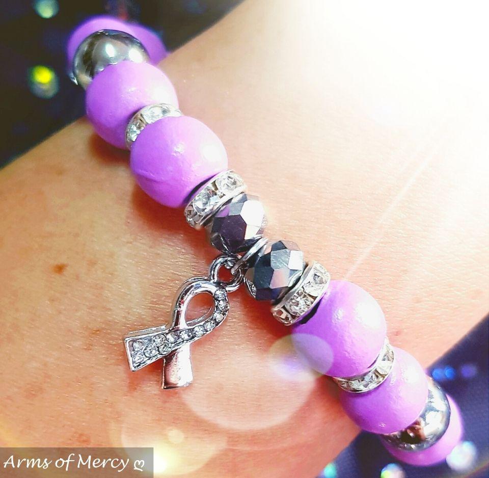 Epilepsy Awareness Bracelet © Arms of Mercy NPC