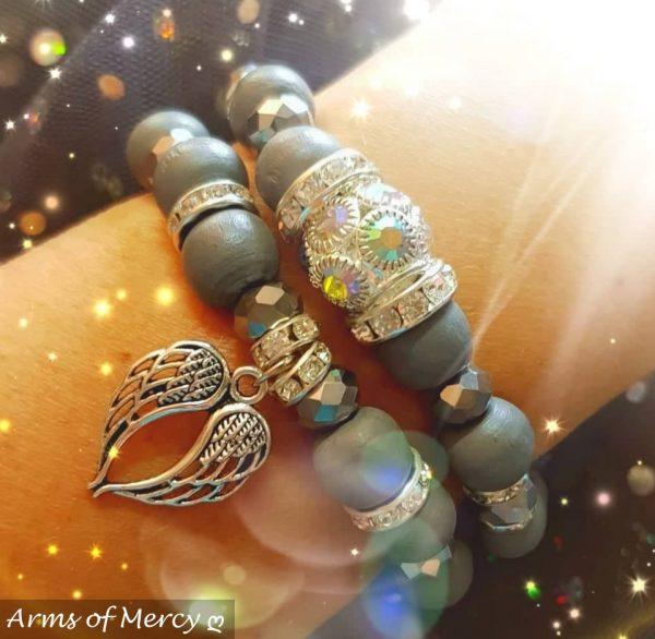 Timeless Bracelet Collection (Grey) © Arms of Mercy NPC