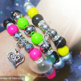 Health and Fitness Awareness Bracelet © Arms of Mercy NPC
