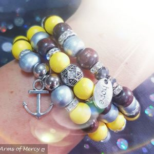 Hope Anchors the Soul Bracelets © Arms of Mercy NPC