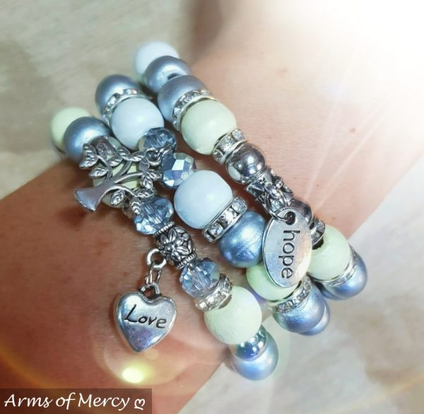 Just Be Bracelets © Arms of Mercy NPC