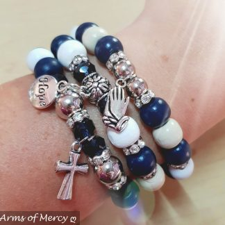 Just Believe Bracelets © Arms of Mercy NPC