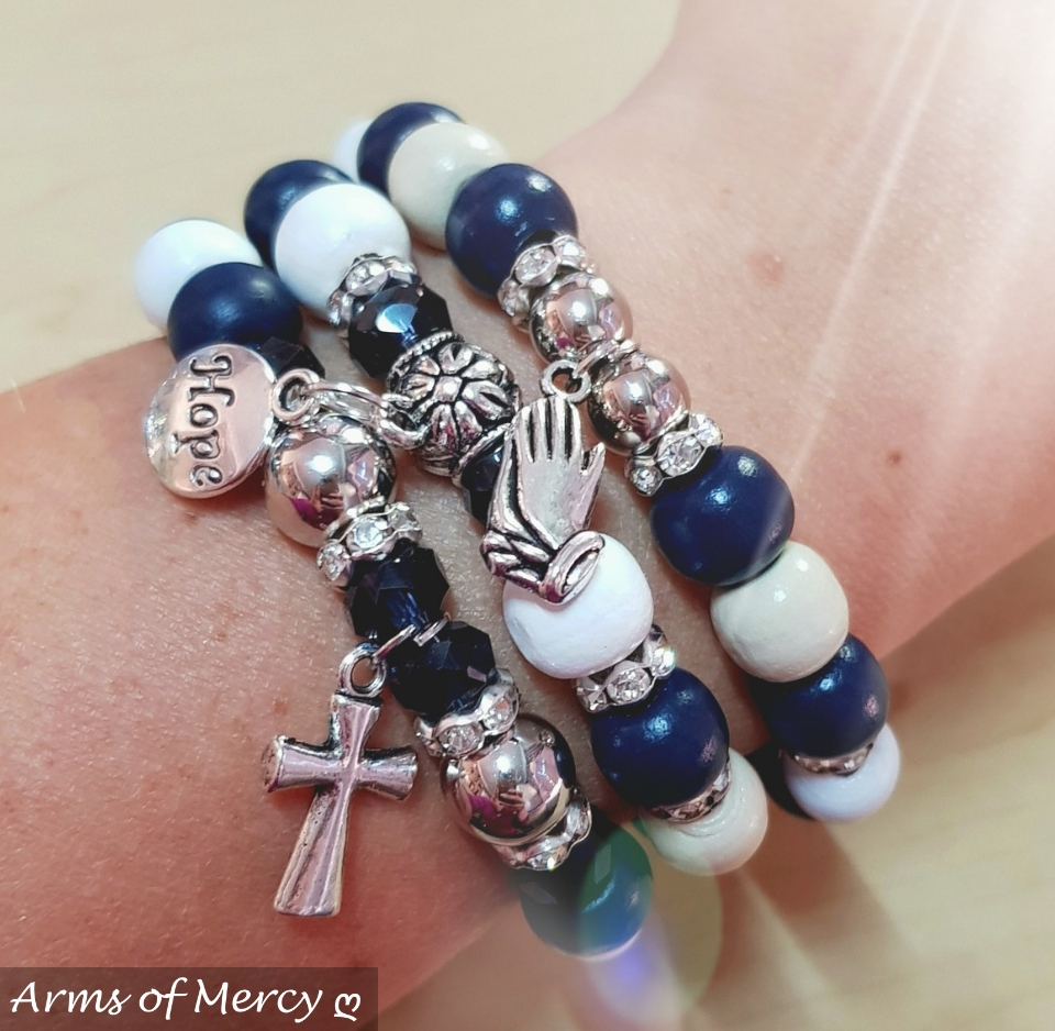 Just Believe Bracelets © Arms of Mercy NPC