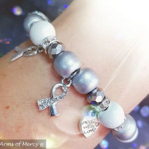 Lung Cancer Awareness Bracelet © Arms of Mercy NPC
