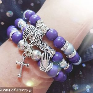 Purple Perfection Bracelets © Arms of Mercy NPC
