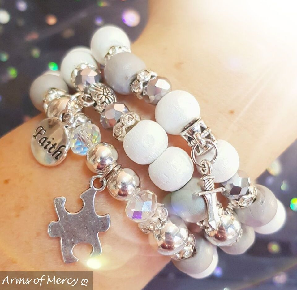 Puzzle Of My Heart Bracelets © Arms of Mercy NPC