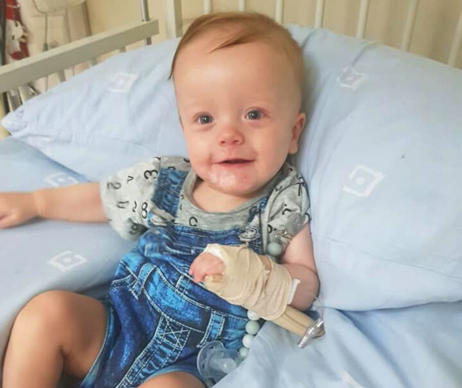 Fundraising for Sebastian Stoman – Congenital Heart Defects (CHD)