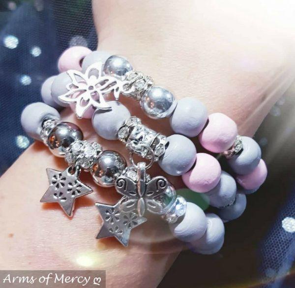 Starry Candyfloss Bracelets © Arms of Mercy NPC