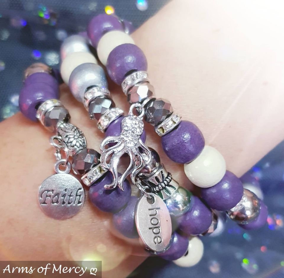 Strength through Faith Bracelets © Arms of Mercy NPC